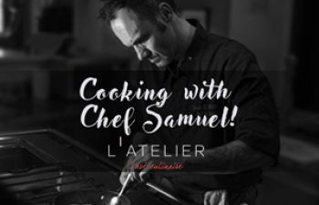 Cooking lesson and fine dining: a bespoke experience @ L'Atelier l'art culinaire!